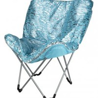 Zebra Foil Butterfly Chair | Room Accessories | Room Decor | Shop Justice