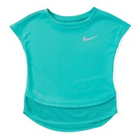 Nike Little Girls 2T-6X 2fer Dri-FIT Modern Short Sleeve Tunic | Dillards