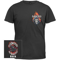 Sons of Anarchy - Reaper Logo Flames T-Shirt