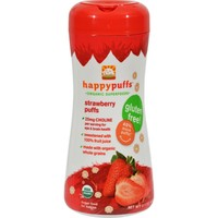 Happy Baby Superfood Puffs Organic Baby Food Strawberry & Beet - 2.1 oz