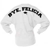 Bye Felicia Graduation Game Day Jersey