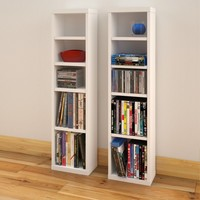 Elma Multimedia Storage Standard Bookcase