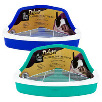 All Living Things® Scatterless Small Animal Litter Pan | Litter Pans | PetSmart