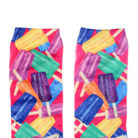 Sockalicious Popsicle Ankle Socks | Mod Angel