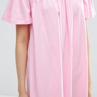 ASOS Off Shoulder Mini Dress at asos.com