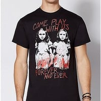 Come Play With Us The Shining Twins T Shirt - The Shining - Spencer's