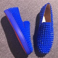 Cl Christian Louboutin Flat Style #694 - Best Online Sale