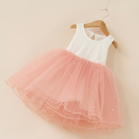 """Pre-order: The """"Taylor"""" Pearl and Lace Tutu Dress - Many colors!"""