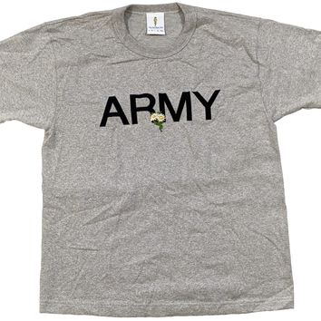 ARMY T-shirt Embroidered