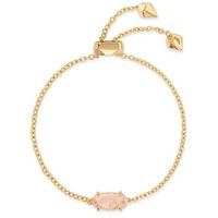 Kendra Scott - Everlyne Gold Chain Bracelet in Rose Quartz