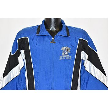 90s University of Kentucky Nylon Jacket Youth Extra Large