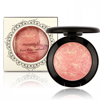 Fashionable New Style  Pink Red Blusher [9036708164]