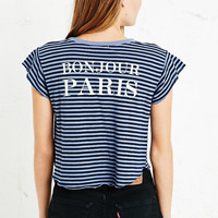 Truly Madly Deeply Paris Greeting Tee - Urban Outfitters