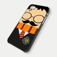 harry potter face mustache - iPhone 4 Case, iPhone 4s Case and iPhone 5 case FDL7