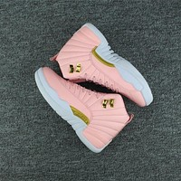 Air Jordan 12 Retro Prem Hc Gg Aj 12 Women Basketball Shoes