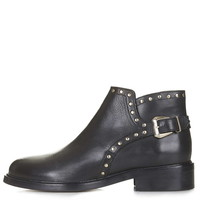 ACTOR Stud Ankle Boots - Topshop