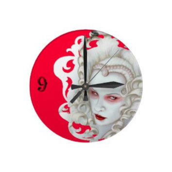 Wall Clocks by Shayne of the Dead by ShayneoftheDead on Etsy