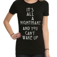 American Horror Story: Coven It's All A Nightmare Girls T-Shirt