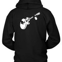 Guitar Vektorize Tee Graphic Hoodie Two Sided