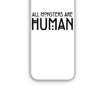 All monsters are human - iPhone 5&5s Case