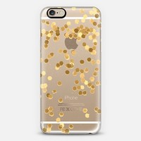 LIMITED EDITION GOLD iPhone 6 plus Transparent Case iPhone 6 case by Monika Strigel | Casetify