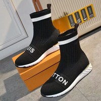 Women Fashion Casual Socks Sneakers Sport Shoes