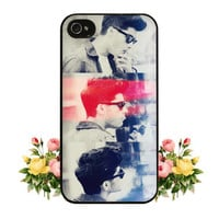 1D One Direction Zayn Malik iPhone 4 4s 5 Case Cute Hipster Directioner iPod 5 Touch
