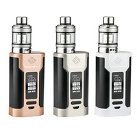 Newest Original Wismec Predator 228 Box Mod + Elabo Kit 228W Electronic Cigarette Mod With 4.9ml/4.6ml Wismec Elabo Atomizer