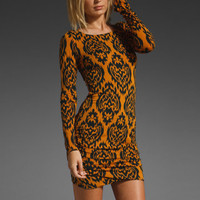 MAURIE & EVE Daria Twist Dress in Ikat Navy at Revolve Clothing - Free Shipping!