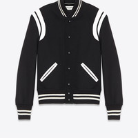 SAINT LAURENT ‎SAINT LAURENT TEDDY JACKET IN WOOL ‎ | YSL.COM