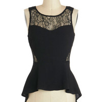 Shadow Chic Top
