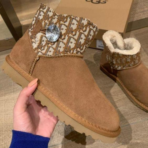 Image of UGG Drill Thread Snow Boots