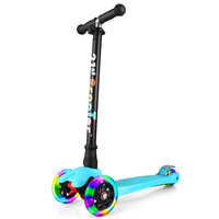 21st Scooter Flash Wheel Children 3-12 Years Outdoor Toys Baby Tricycle Four Wheels Kid Bike Slide Ride on Toy
