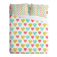 DENY Designs Home Accessories   Allyson Johnson I Love You With All My Heart Sheet Set