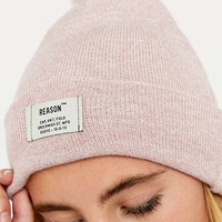Reason Marled Rose Bobble Hat - Urban Outfitters