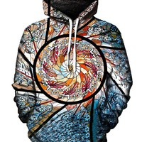 Stained Glass Pullover Hoodie
