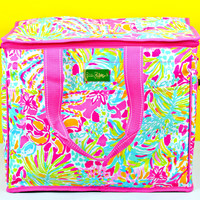 LILLY PULITZER: Insulated Cooler - Spot Ya