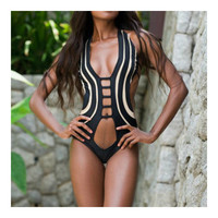 Bikini Swimwear Swimsuit Sexy Women Bathing Suit  S