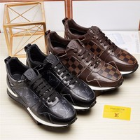 LV Louis Vuitton Man or Woman Fashion Casual Shoes  Flats Shoes