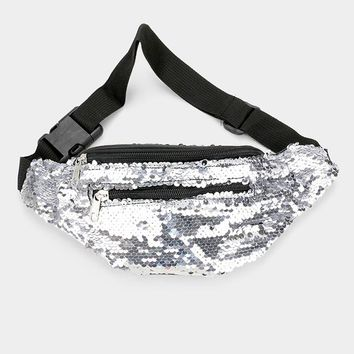 Reversible Sequin Fanny Pack (Click For More Colors)