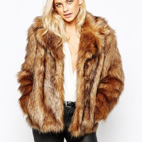 Oasis Faux Fur Coat
