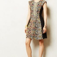 Dacano Embroidered Dress by Burning Torch Black Motif