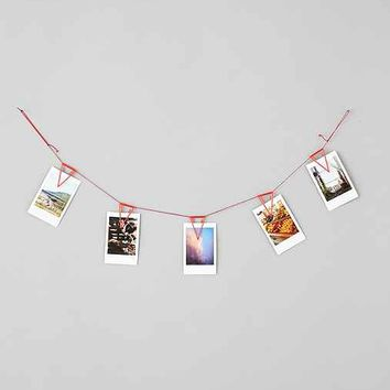 Pennant Photo Clip Banner- Red One