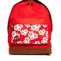 Mi Pac Aloha Print Pocket Backpack at asos.com