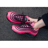Nike Air Max 97 UL '17 GS Running Shoes ¡°Black&Pink¡±917999-001