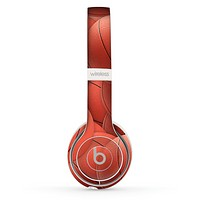 The Basketball Overlay Skin Set for the Beats by Dre Solo 2 Wireless Headphones