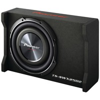 "Pioneer 10"" Preloaded Subwoofer Enclosure Loaded With Ts-sw2502s4"