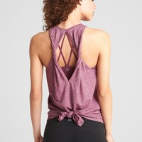 GapFit Breathe Twist Back Tank Top|gap
