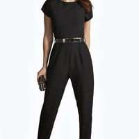Millie Woven Belted Jumpsuit