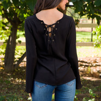 Empire State Of Mind Top - Black